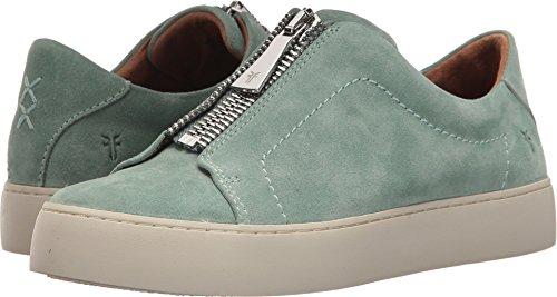 Designer Wear Shoes - FRYE Women's Lena Zip Low Sneaker, Mint, 7.5 M US