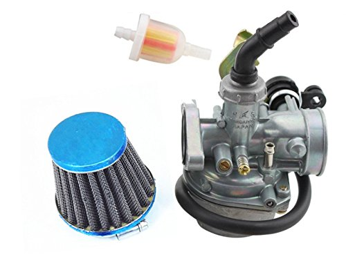 Amible New Carburetor 19mm PZ19 with Cable Choke Pit Dirt Bike ATV Scooter Moped 50 70 90 110 125 150cc 4 Wheeler Quad Bikes Carb