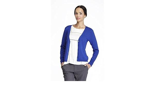 Amichi, BASICA CHAQUETA VISCOSA CP CORTA - Mujer - azul - Talla XXXXL: Amazon.es: Ropa y accesorios