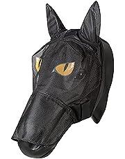 PFIFF 101013 Flumask ansiktsmask med motiv för hästar, flugskydd