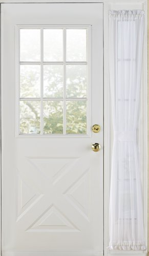 Stylemaster Home Products Elegance Voile Side, 30 Inch By 72 Inch, White
