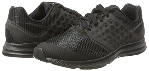 Nike Downshifter 7 Gs, Zapatillas de Running para Niñas Negro (Black/black)