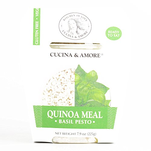Cucina and Amore Basil Pesto Quinoa Meal 7.9 oz each (5 Items Per Order, not per case) ()