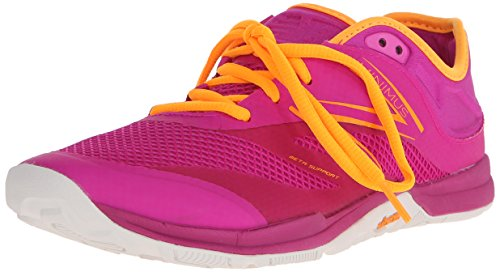 New Balance Womens 20v5 Minimus Training Shoe Pink/Yellow