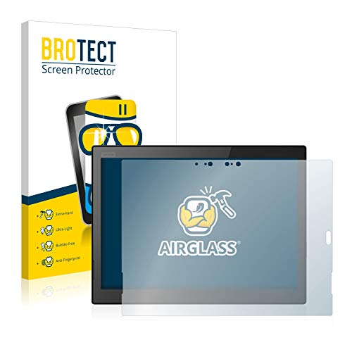 BROTECT Panzerglas Schutzfolie kompatibel mit Lenovo ThinkPad X1 Tablet (3.Gen) – AirGlass, extrem Kratzfest, Anti…