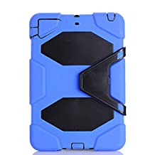 IIYBC Brand for Apple Ipad Mini 1&2&3 Defender Shockproof Survivor Military Duty Hybrid Hard Case with Soft Silicone