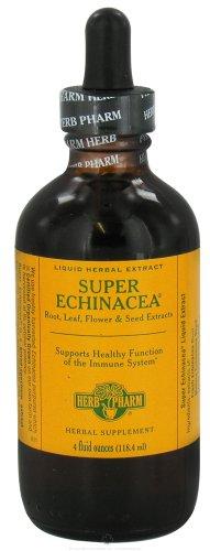 Herb Pharm Super Echinacea Liquid - 4 Oz, 2 Pack