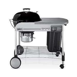 Weber 1481001 Performer Platinum Charcoal Grill, Black (Older Model)