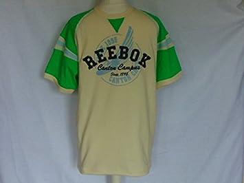 Reebok para Hombre Vintage Canton Crema tee Shirt – Camiseta Deportiva Ocio Desgaste Medio: Amazon.es: Deportes y aire libre