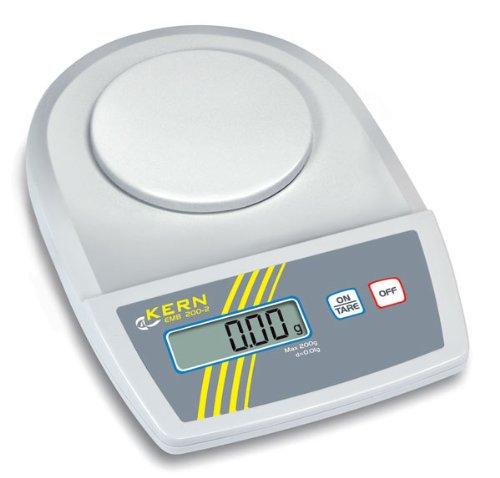 Balance compacte multifonctions haute précision 600g x 0.01g KERN EMB600-2