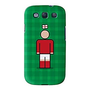 England 4 Full Wrap High Quality 3D Printed Case for Samsung? Galaxy S3 by Blunt Football International + FREE Crystal Clear Screen Protector