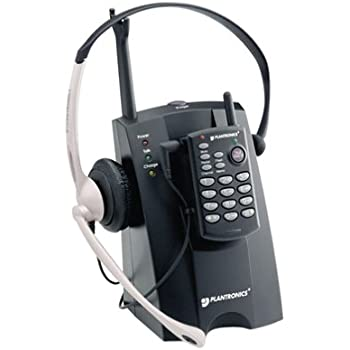 Plantronics CT10 900 MHz Cordless Headset Telephone (Discontinued by  Manufacturer)
