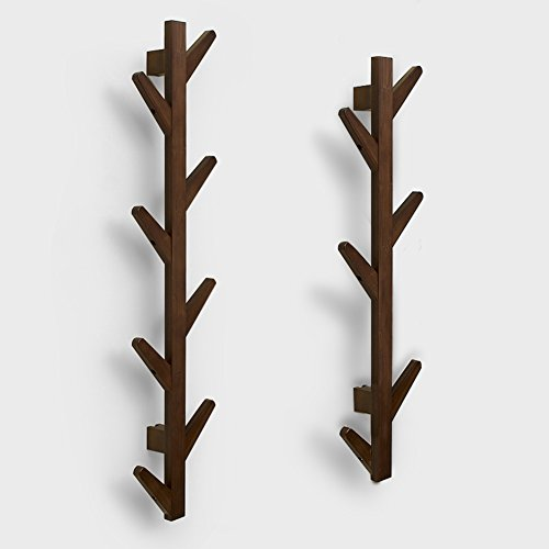 Creative Hooks/Wooden Hook/Wall-mounted Coat Rack/Wall Hangers-J by LWZY Clothes hook