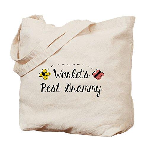 CafePress Best Grammy de la–Mundo–Gamuza de bolsa de lona bolsa, bolsa de la compra