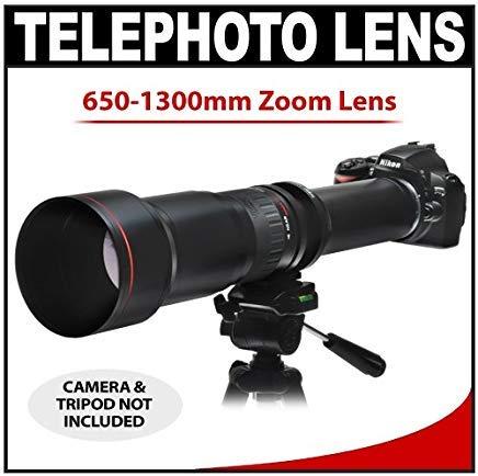 لنز زوم Vivitar 650-1300mm f / 8-16 SERIES 1 لنز زوم تله فوتو برای Nikon D40، D60، D90، D200، D300، D300s، D3، D3s، D3x، D700، D3000