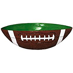"Football Frenzy Birthday Party Large Bowl Tableware, 1 Pieces, Made from Plastic, 12 1/2"" x 10"" by Amscan"