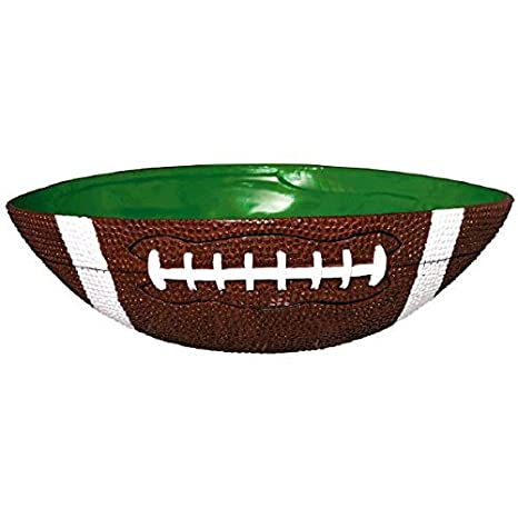 Football Frenzy Birthday Party Large Bowl Tableware, Plastic, 12