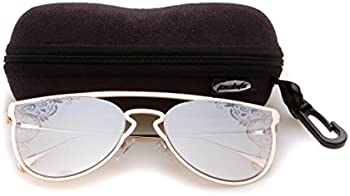 Tacloft Cateye Non Polarized Metal Women's Sunglasses