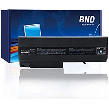 BND 7800mAh Laptop Battery [with Samsung Cells] for HP Compaq 6910p 6510b 6710b NC6400 NC6220 6715s NC6120 NX6110 - 24 Months Warranty[9-Cell Li-ion]
