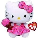 Pelucia Hello Kitty Sorvete TY - DTC