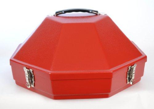 Hammer Plastics Mens 4 1/2 Brim Black Low Profile Western Hat Can Red (Plastic Hat Western)
