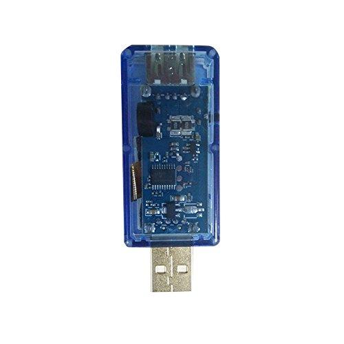 GorNorriss Electronics Gadgets USB Multifunction Current Voltage Detector Capacity Digital Tester Monitor Meter (Blue) ()