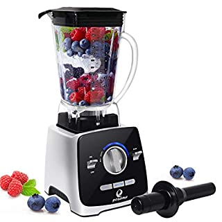 Professional Countertop Blender, posame 8-in-1 Food Processor, 1400W High Speed Blender, 72oz Container,Variable Speed,Self Cleaning,Powerful Blade for Easily Crushing Ice, for Shakes, Smoothies, Food Prep, and Frozen Blending