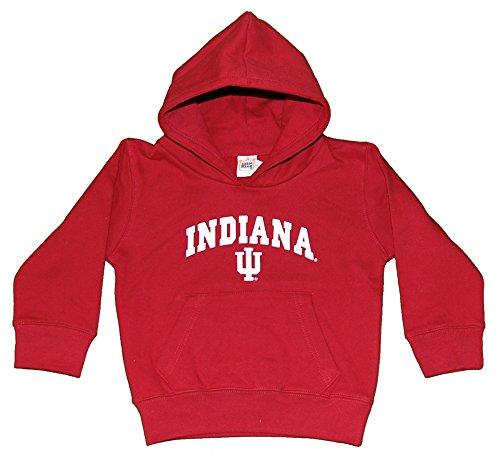 Cardinals Ncaa Hooded Fleece - NCAA Indiana Hoosiers Hooded Fleece Top, Youth Medium, Cardinal