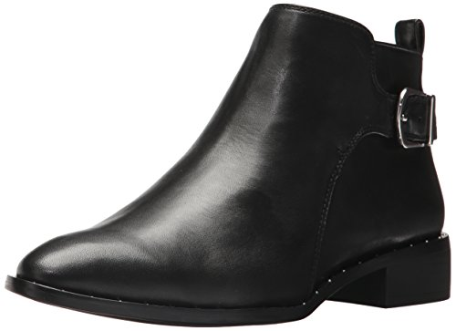 Steve Madden Steven by WoMen Clio Ankle Boot Black Leather