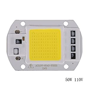 Sunshay 20W/30W/50W LED 110V/220V LED COB Bulb Chip Input IP65 Smart IC Fit For DIY LED Flood Light LED Modules