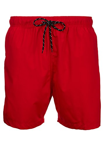Laguna Men's New Islander Board Short Swim Trunks RED Medium ()