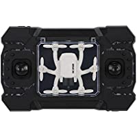 FQ777-126C FQ777 126C MINI Drone with 2MP HD Camera RC Quadcopter MODE1 & MODE2 Switch Headless 4CH 6Axis Gyro 3D-flip One-key Return Spider RC Hexacopter - White