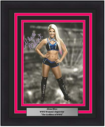(Alexa Bliss Autographed Posed 8