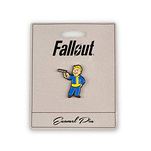 Fallout Steady Aim Perk Pin | Small Metal Enamel Pin | Official Fallout Video Game Series Collectible