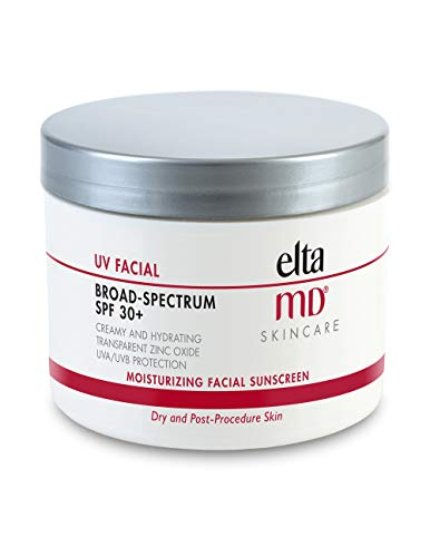 EltaMD UV Facial Sunscreen Broad-Spectrum SPF 30+, Moisturizing, Dermatologist-Recommended Mineral-Based Zinc Oxide Formula, 4.0 oz (Best Cheap Ulta Products)