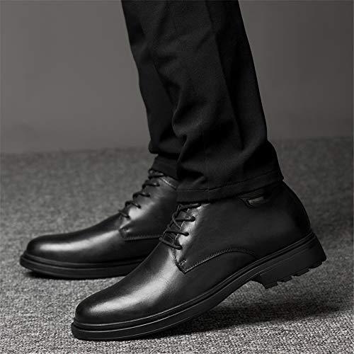 Invierno Moda Hombre Zapatos Un Cuero Para De Un Motos Botines Tamaño Otoño 37 color Botas Hombre Mmj PwEYqP