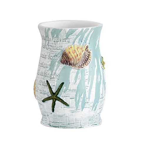 Popular Bath Tumbler, Atlantic Collection, Aqua
