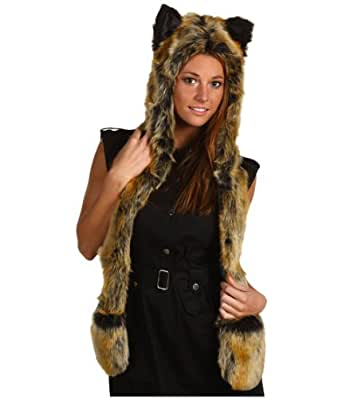 Red Wolf Full Hood By SpiritHoods