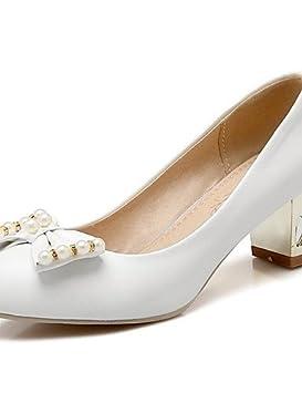 WSS 2016 Zapatos de boda-Tacones-Tacones / Punta Redonda-Boda / Vestido