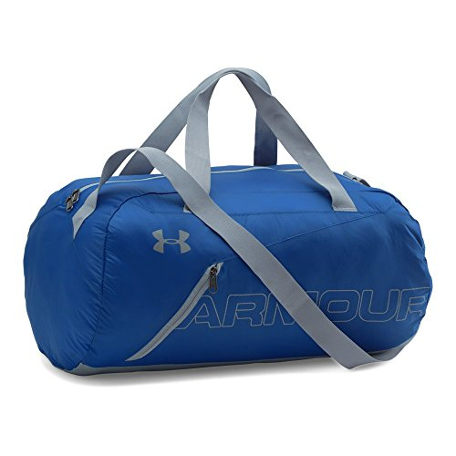 Under Armour Packable Duffle Bag, Royal /Silver, One Size