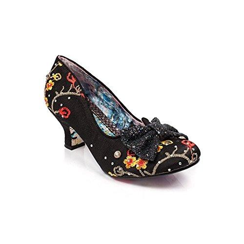 Yellow Womens Black Shoes Dazzle Textile Choice Irregular Razzle aB0Znq