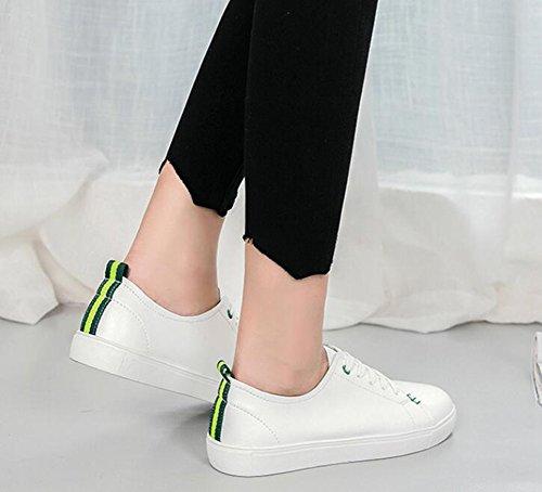 Microfibra Zapatos Informales Mujer Oto de de o Verano Primavera Tac Mujer Sneakers Zapatos Comfort EXqRSw