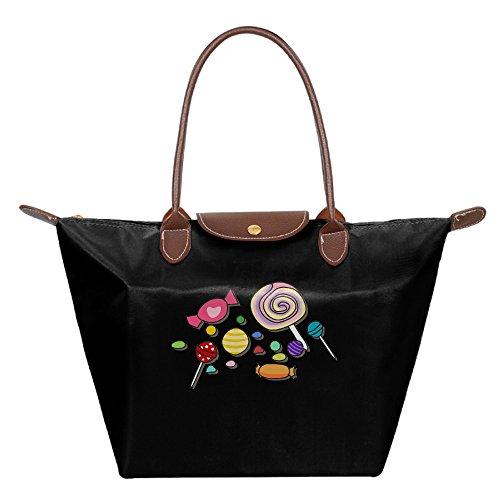 Ladies Halloween Large Tote Bags,Multifunction Waterproof Shoulder Handbags With Zipper -