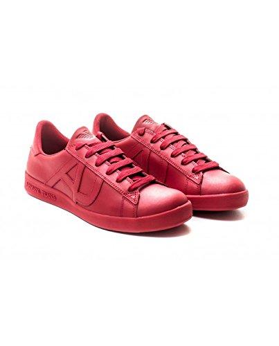 Armani 06565yo - Zapatos de cordones brogue Hombre Rojo