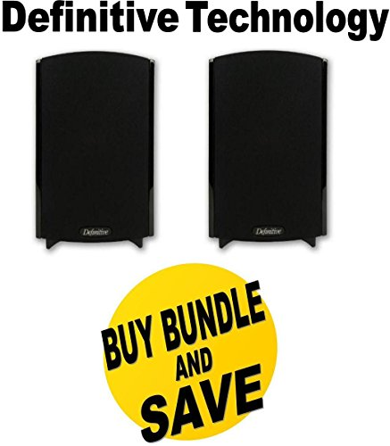 Definitive Technology ProMonitor 800 Bookshelf Speaker (Pair Black)