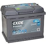 EXIDE Premium Carbon Boost EA640 64Ah Autobatterie (Neuestes Modell 2014/15, Preis inkl. EUR 7,50 Pfand)