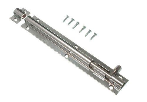Lot Of 20 Door Bolt Barrel Slide Lock 150Mm 6 Inch Chrome With Screws