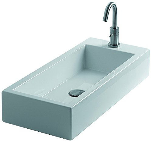 Cheap  WS Bath Collections Hox Large 70C - WS06101F Ceramic Vessel Bathroom Sink..