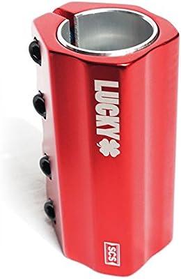 LUCKY SCS - Abrazadera para Patinete (4 Pernos), Color Rojo ...