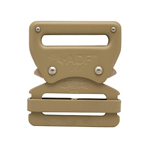 "Raptor I Tactical Military Police Aluminium Quick Release 1.75"" Gürtelschnalle Coyote Brown 10 Stück"